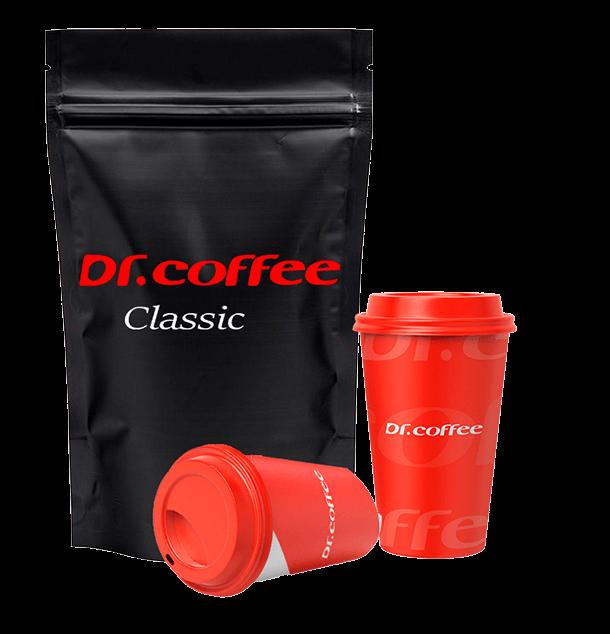 Зерновой кофе Dr.Coffee Classic