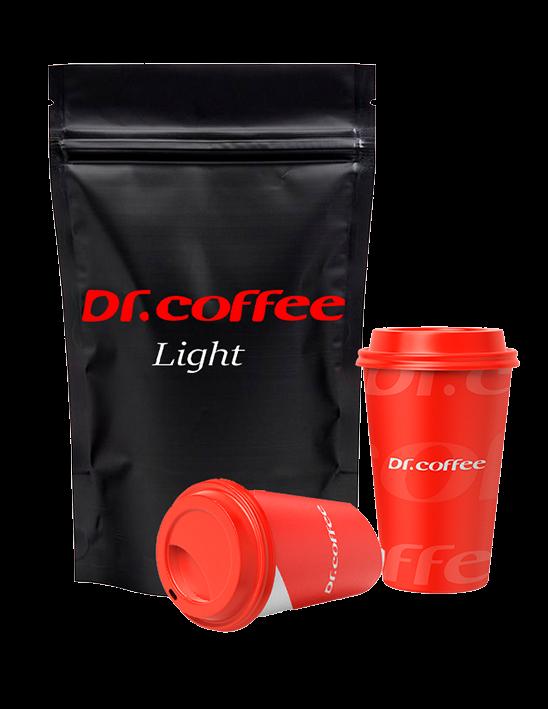 Зерновой Кофе Dr.Coffee Light